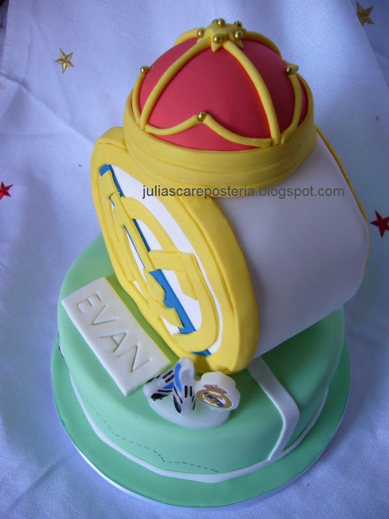 La Boutique De Las Tartas Cake Design Tarta Escudo Del Real