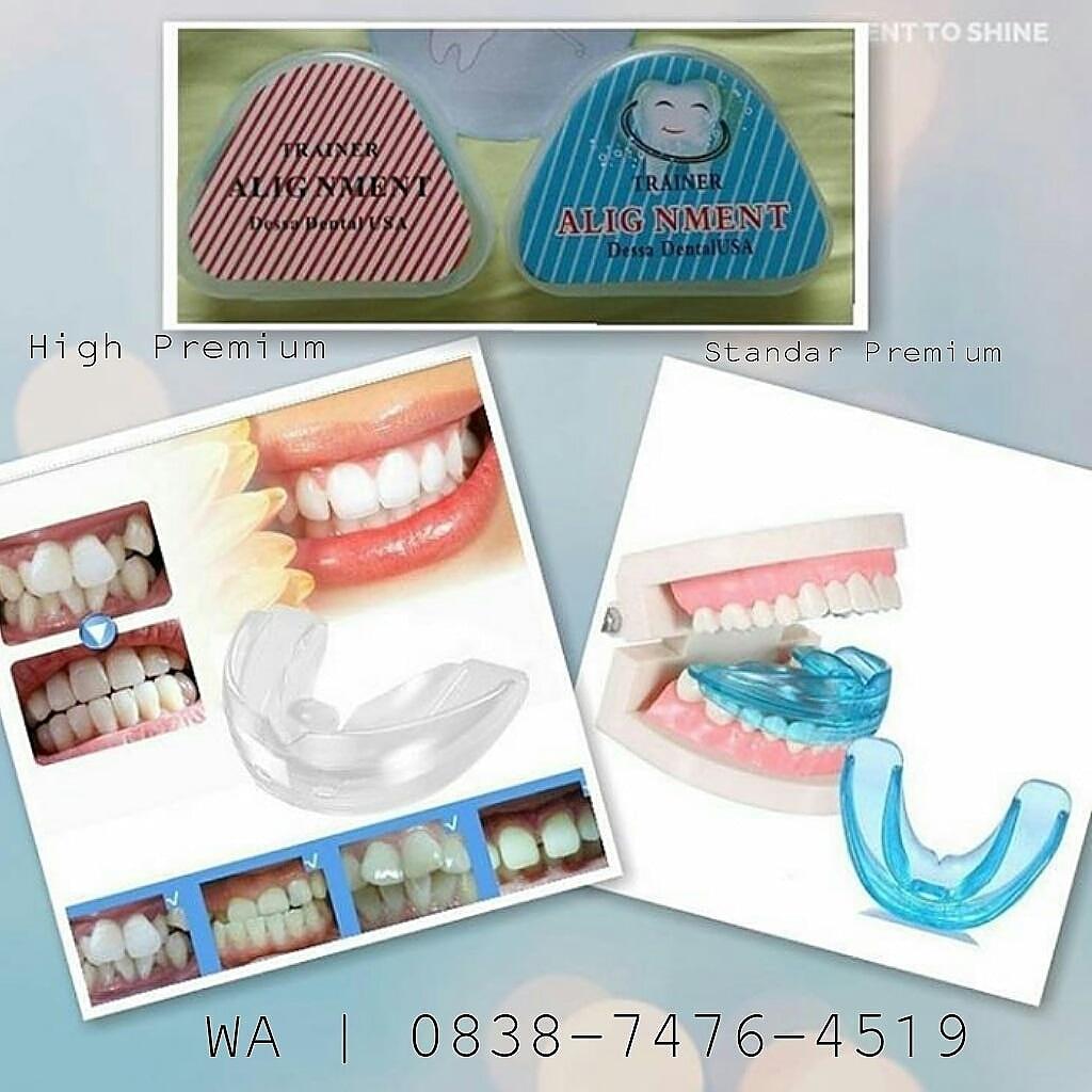 Perapi Gigi Theeth Trainer Alignment Solusi Rapikan Ekonomis Orthodontic Retainer Teeth Dental Tooth Merapihkan Pelurus Behel