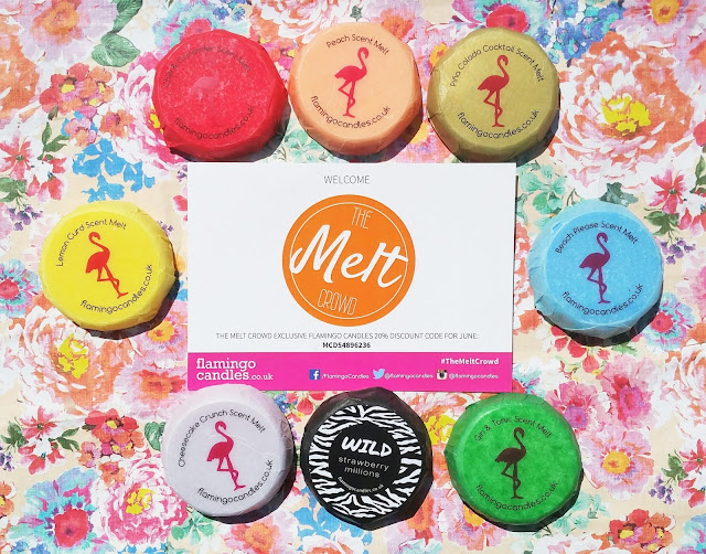 The Melt Crowd Box from Flamingo Candles Review