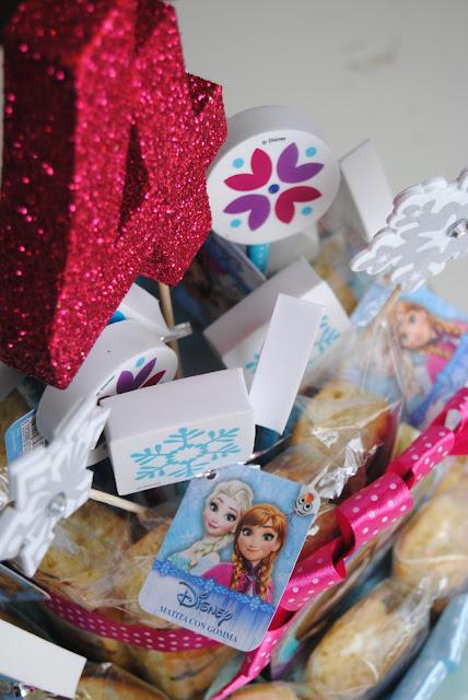 Torte e composizioni di merendine per feste di compleanno bimbi