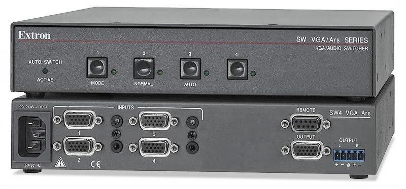 Jass Visual AV Installation: EXTRON Electronics Products Solutions