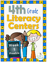 4th-Grade Week 1 Centers