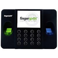Fingerspot Revo Duo 158 BNC Dual Sensor Mesin Absensi Fingerprint