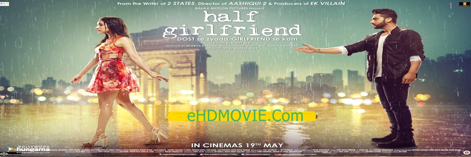 Half Girlfriend 2017 Full Movie Hindi 720p - 480p ORG BRRip 350MB - 950MB ESubs Free Download
