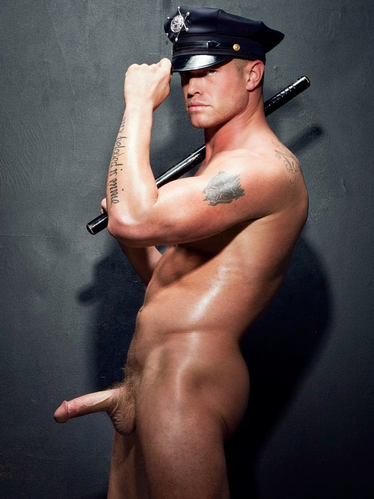 Hotblack Teen Sexy Policeman 63