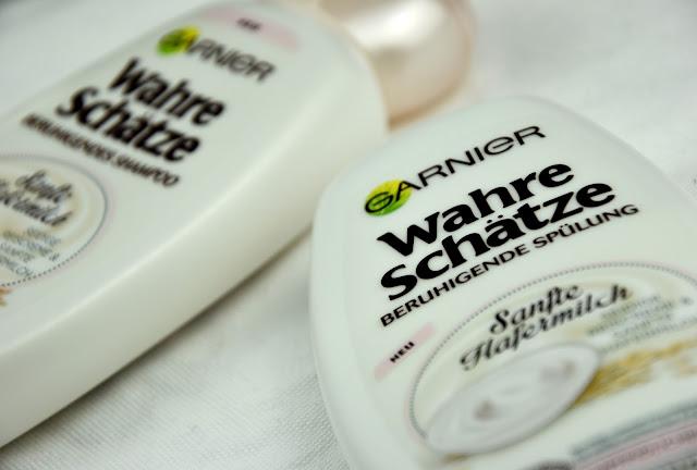 Review Garnier Sanfte Hafermilch Shampoo und Spülung