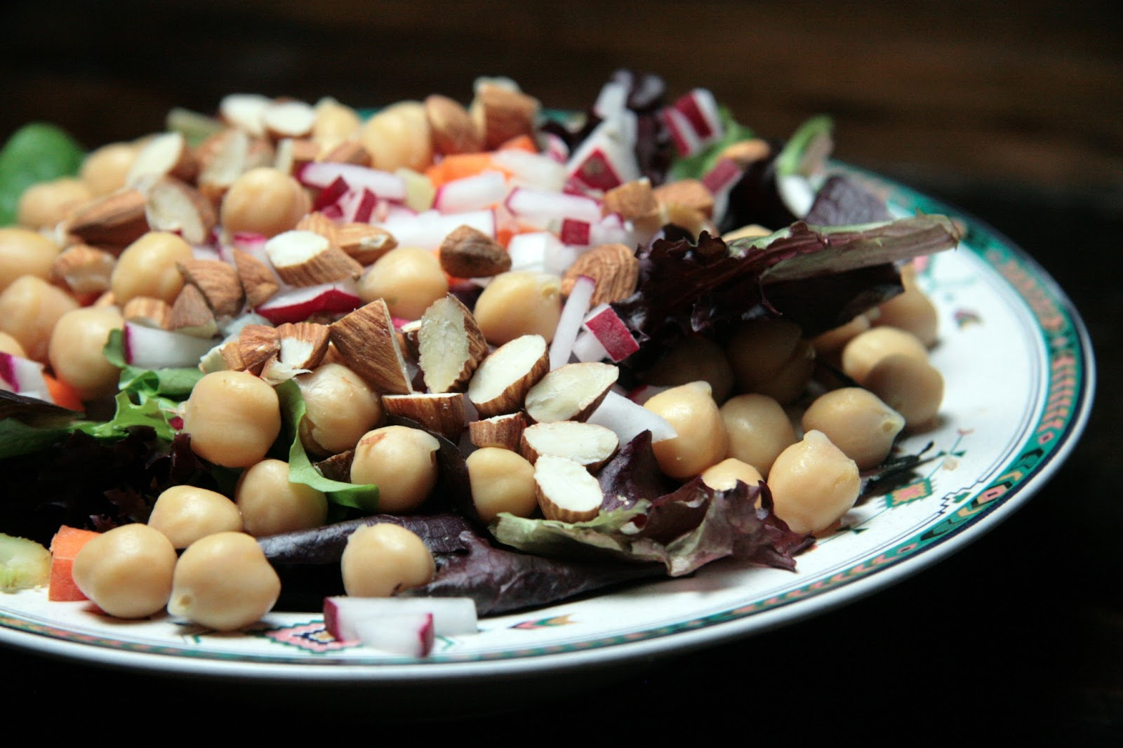 Local Food Rocks: Chickpea salad with cumin coriander vinaigrette