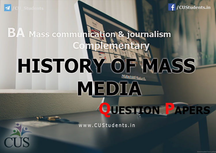 history of mass comunication History of the department of mass communication in 1961 history was made in sub-saharan africa when a department of mass communication, then known as the jackson college of journalism was established at the university of nigeria, nsukka with a virtually north american style of school of journalism curriculum including heavy doses of.