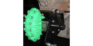 pneumatic vane type damper drive