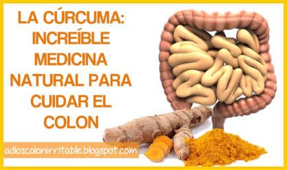 La Cúrcuma ¡Increíble medicina natural para cuidar el Colon!