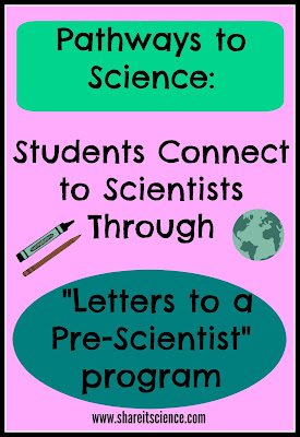 Letters to a Pre-Scientist school science pen-pal program