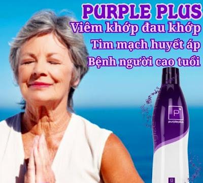 Purple Plus Bhip giam dau khop cho nguoi gia