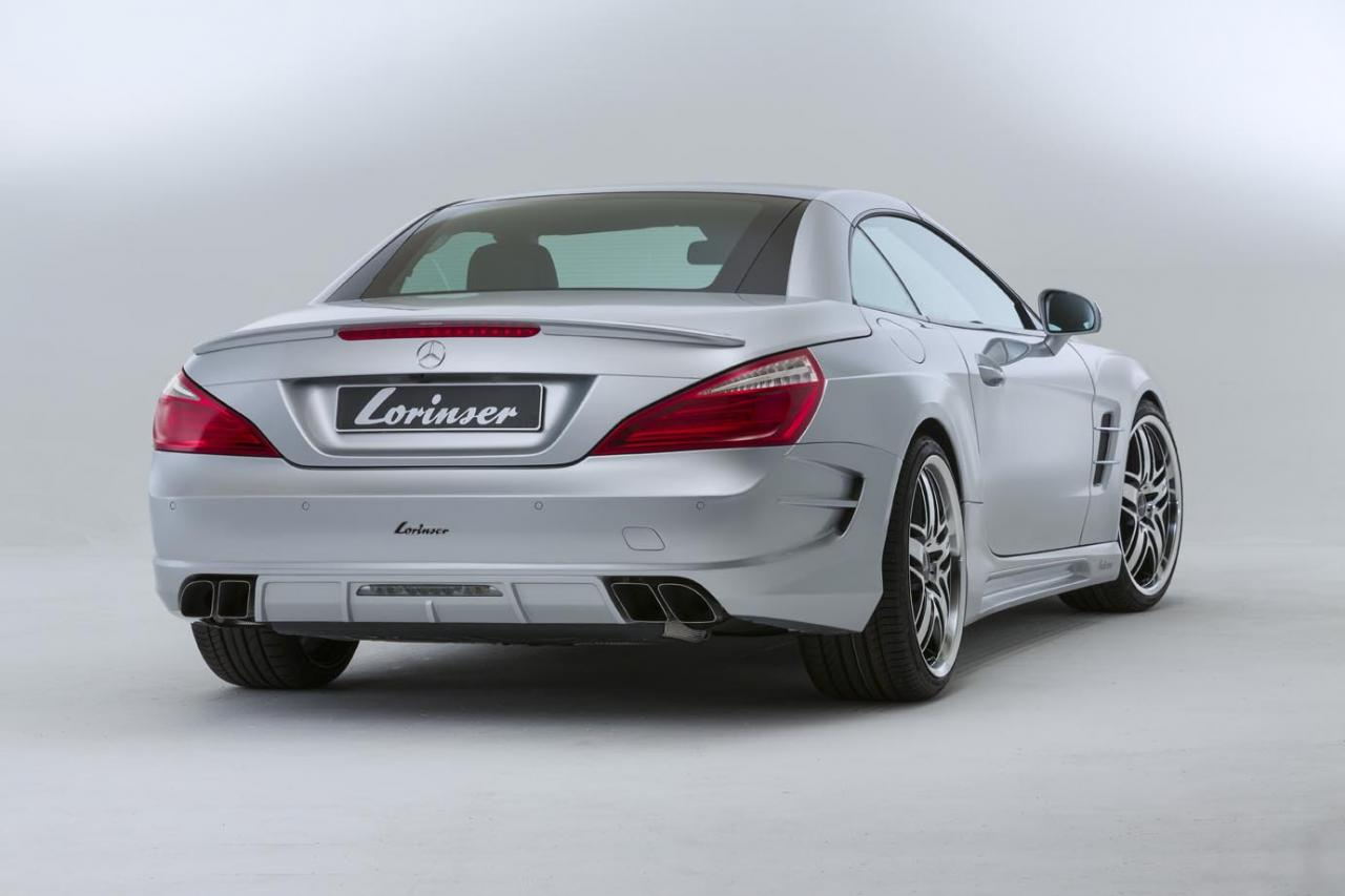 2013 Mercedes Benz Sl 500 With Custom Body Kit By Lorinser