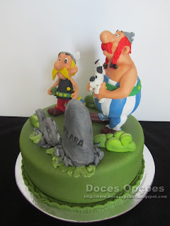 asterix obelix birthday cake