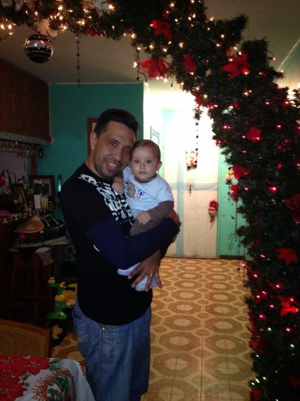 Hijo y Papá. Felices todos