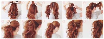 Pony Hairstyles For Medium Length Hair