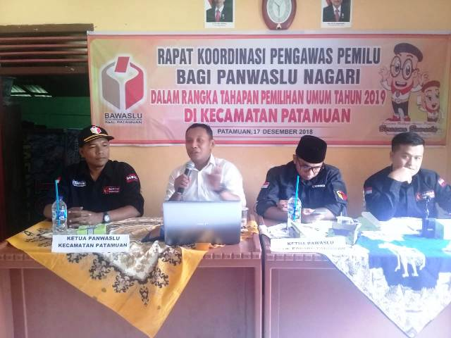 Anton Wira Tanjung Minta Panwaslu Aktif Sosialisasikan Pengawasan Pemilu di Medsos