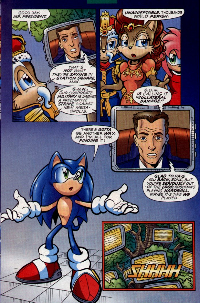 Read online Sonic The Hedgehog comic -  Issue #130 - 23