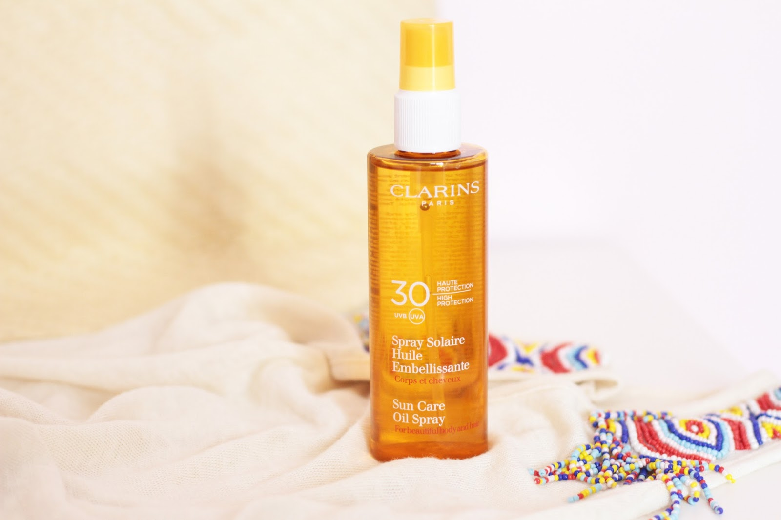 Clarins Spray Solaire Huile Embellissante SPF 30