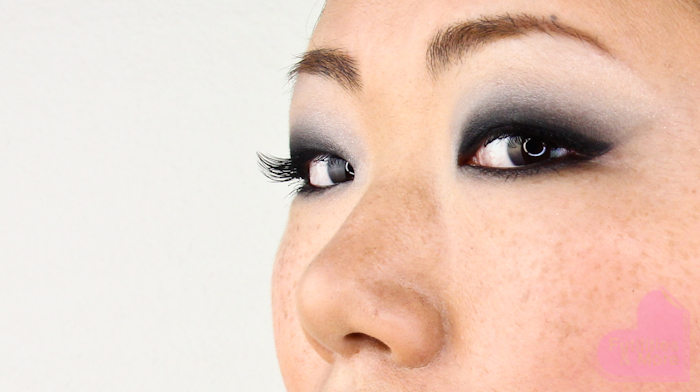Easy Black Smokey Eyes Look For asian monolids
