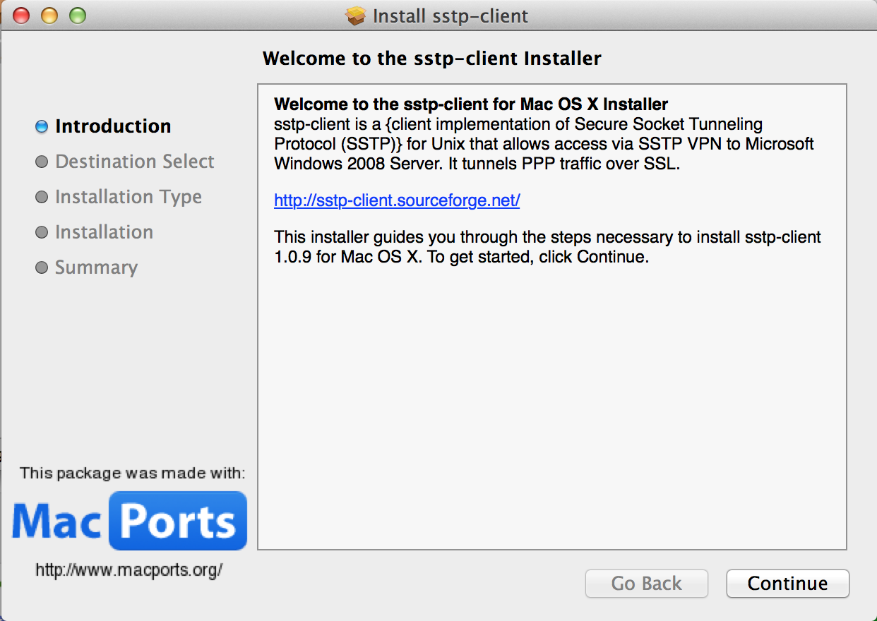 Mac os x ssl vpn client