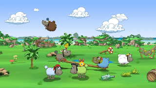 Clouds and Sheep 2 PS3 Wallpaper