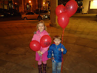 Top Ender and Big Boy with Balloons