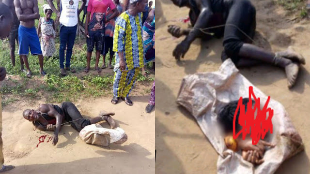 61-year old man nabbed with fresh woman's head says the lady came for spiritual solution to her problem