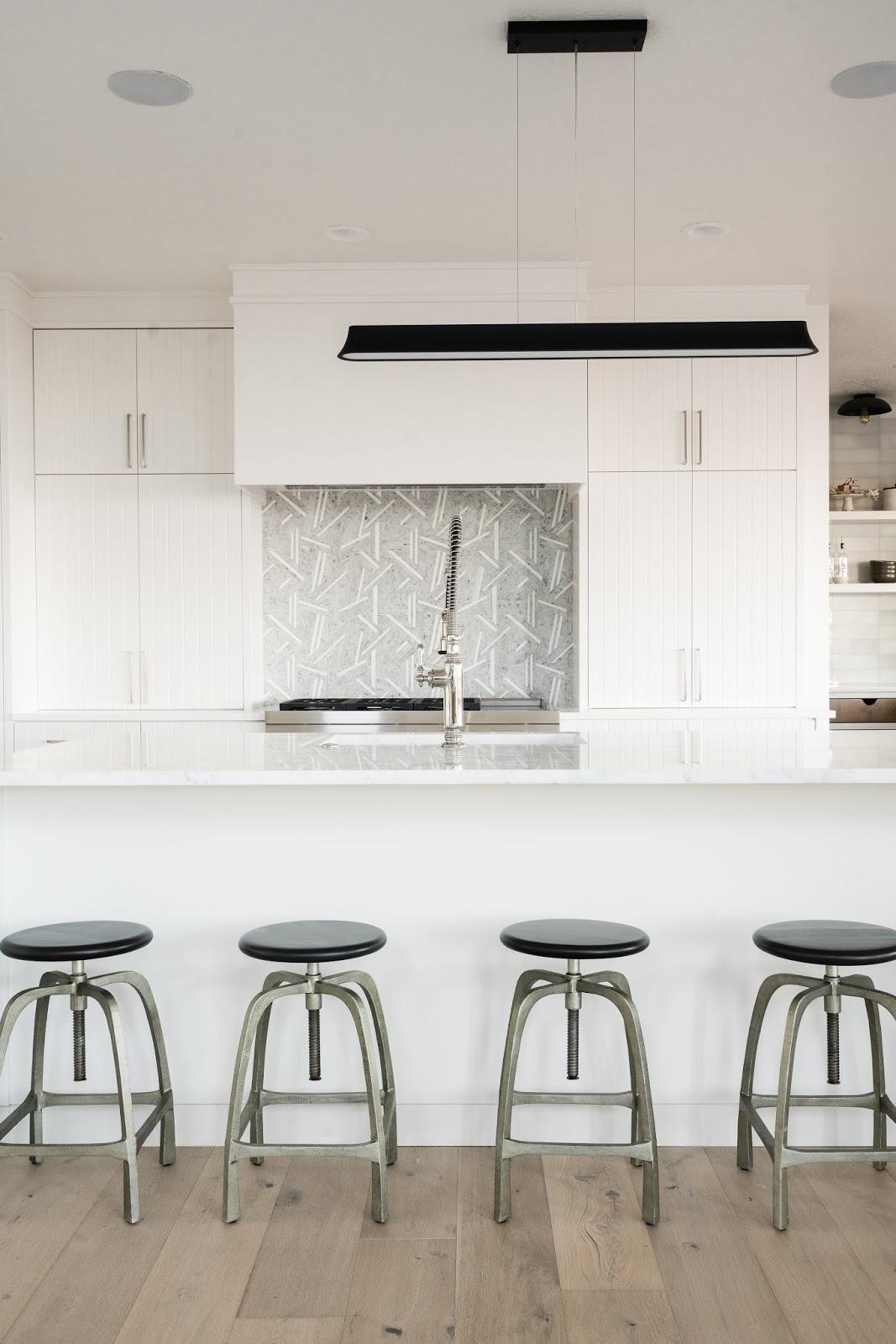 Clean Kitchen Design, Modern Barstools