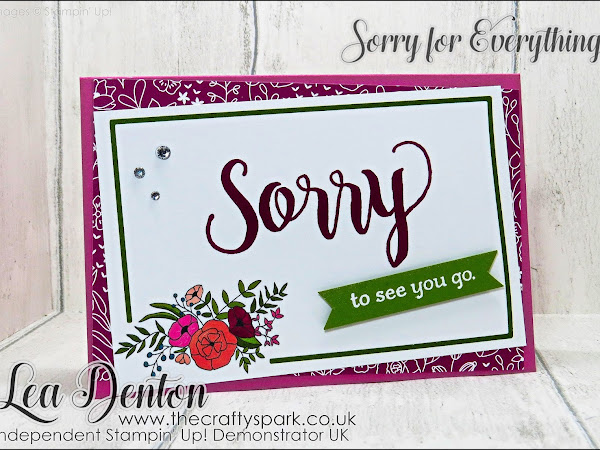 Sorry To See You Go With Sweet Soiree Memories & More
