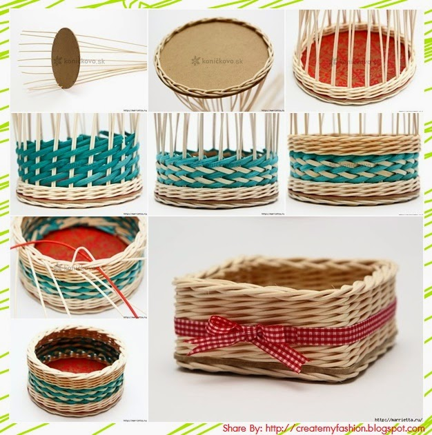 Basket Weaving At Home : Diy