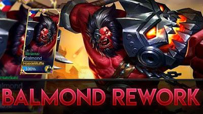 Rework Hero dan Skin Balmond Jadi Tambah Garang dan Keren