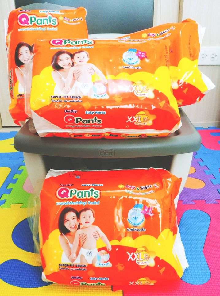 QPants Baby Diapers can be bought from popular online shopping sites