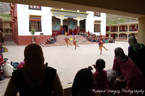 kungri monastery cham dance venue