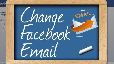 how to change your email on facebook