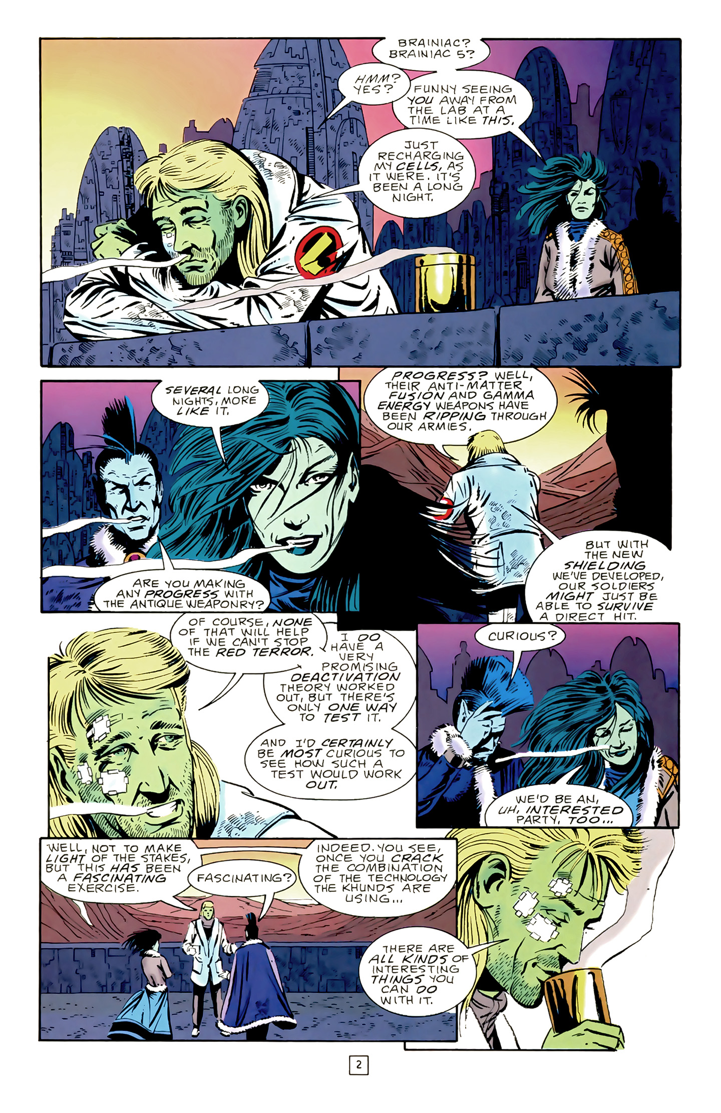 Legion of Super-Heroes (1989) 17 Page 2