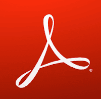 Adobe Acrobat Reader official XI logo PNG
