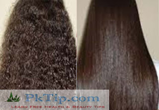 How To Get Straight Hair Naturally At Home 2019