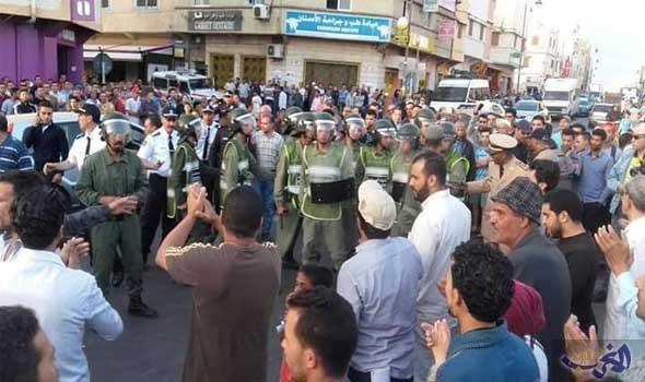 قوات الامن المغربية تواصل حملة الاعتقالات في صفوف نشطاء حراك الريف المنتفض