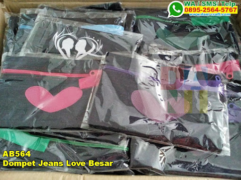 Toko Dompet Jeans Love Besar