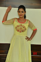 Teja Reddy in Anarkali Dress at Javed Habib Salon launch ~  Exclusive Galleries 007.jpg