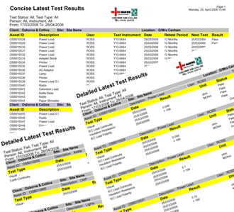 pat testing record sheet template - electrical engineering