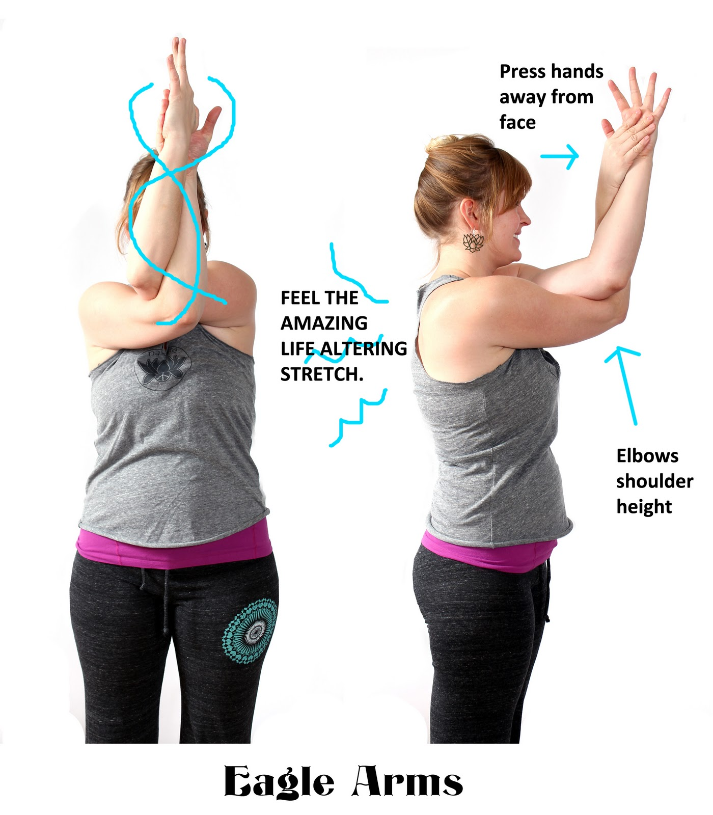 Stretches Poses I Can Do While Standing At Work Yoga