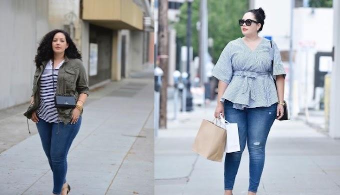 Potongan Jeans Untuk Mereka Tubuh Berisi