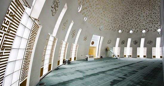 Desain interior masjid Yesil Vadi Turki  1000 Inspirasi