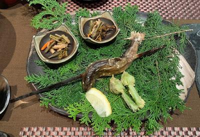 船山温泉 夕食