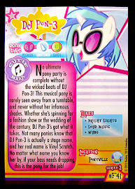 My Little Pony DJ Pon-3 Series 2 Trading Card