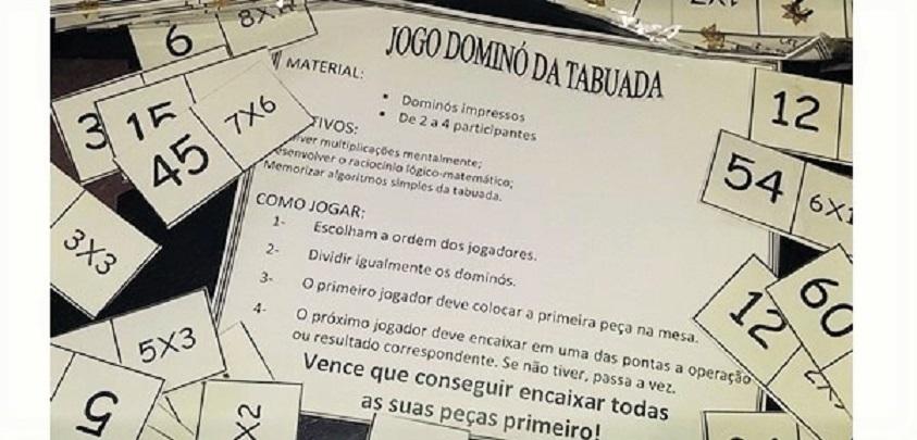 Baixe E Imprima Gratis O Jogo Domino Da Tabuada So Escola