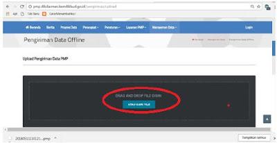 Cara Kirim Data PMP Secara Offline (Update Terbaru)
