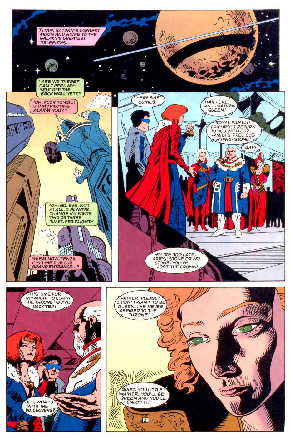 Legion of Super-Heroes (1989) 50 Page 3